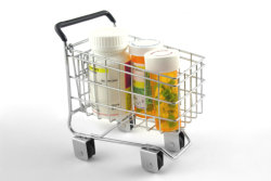 medicine in the cart